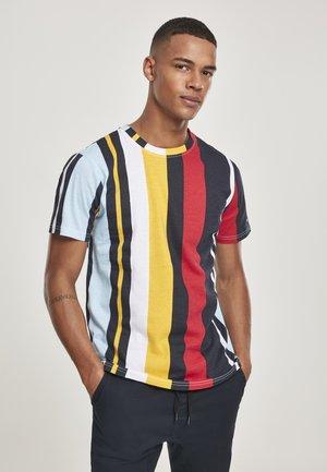 VERTICAL BLOCK - T-shirt imprimé - black