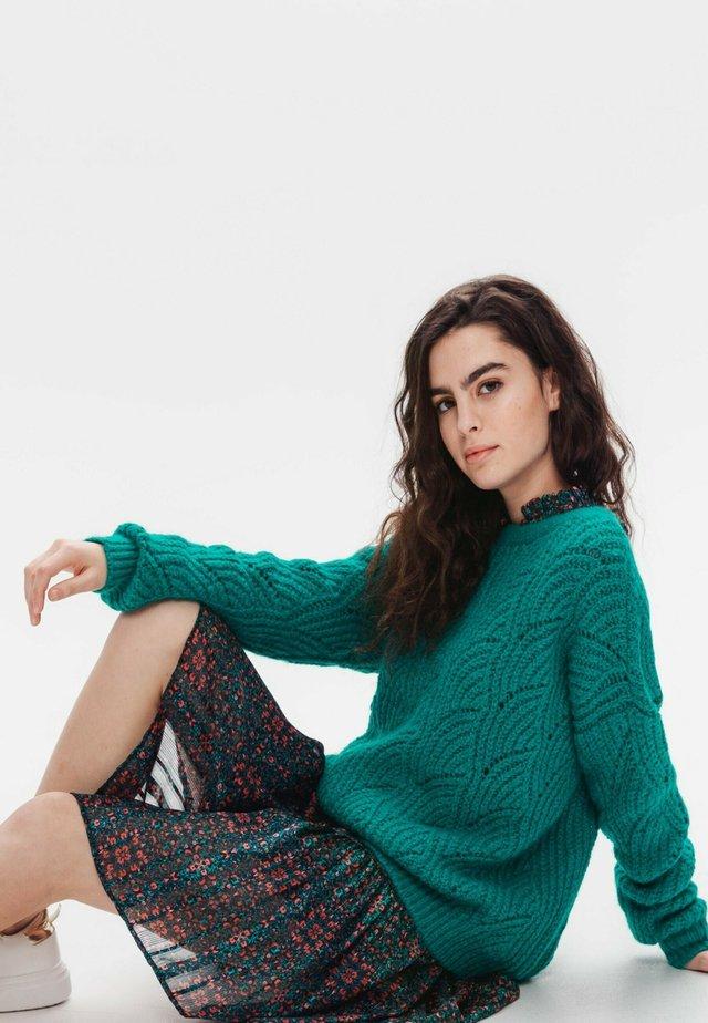 Pullover - vert émeraude