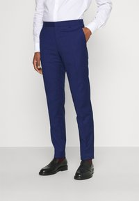 Tommy Hilfiger Tailored - FLEX STRIPE SLIM FIT SUIT SET - Oblek - blue - 4