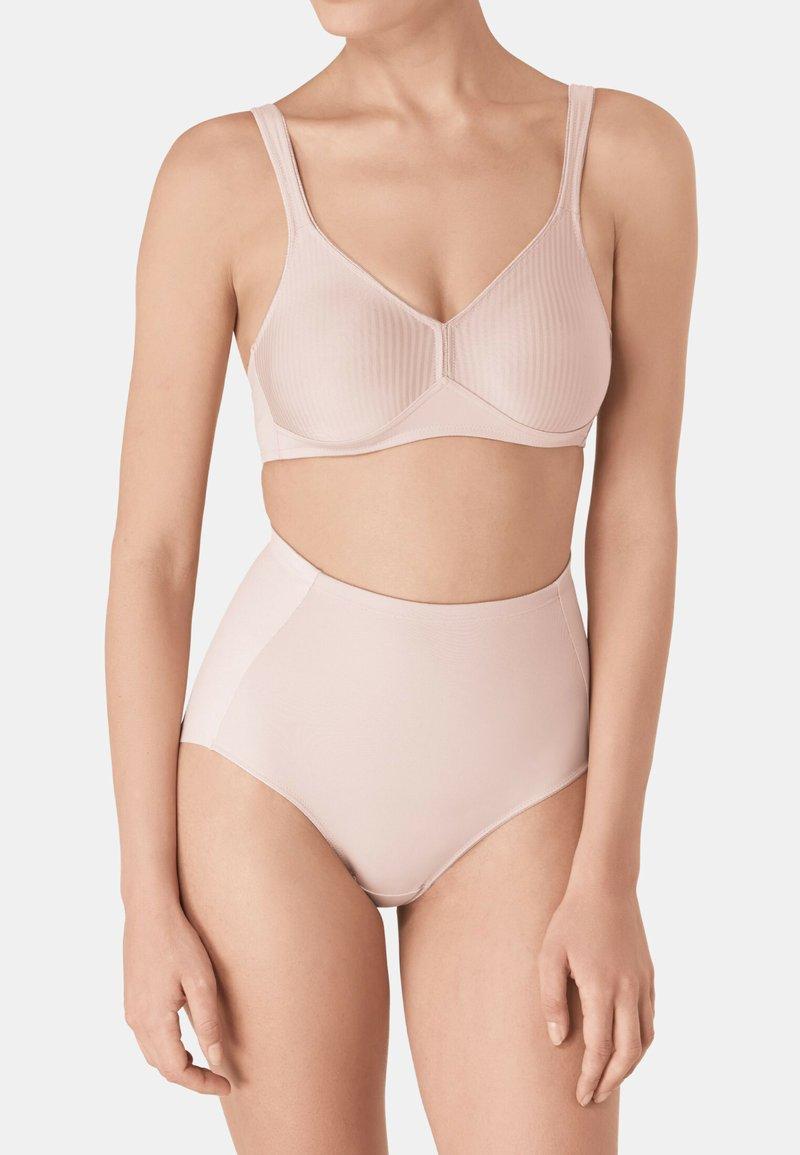 Triumph - MODERN SOFT & COTTON N - Triangle bra - neutral beige