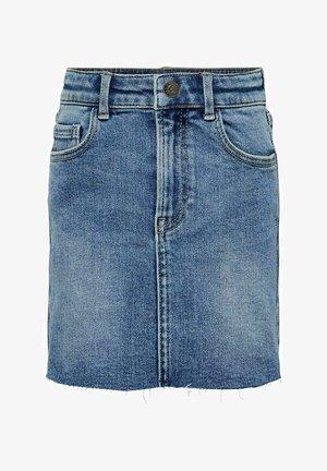 Jeansrok - medium blue denim