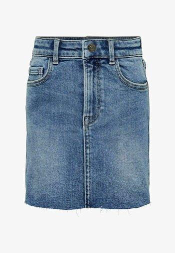 Denim skirt - medium blue denim