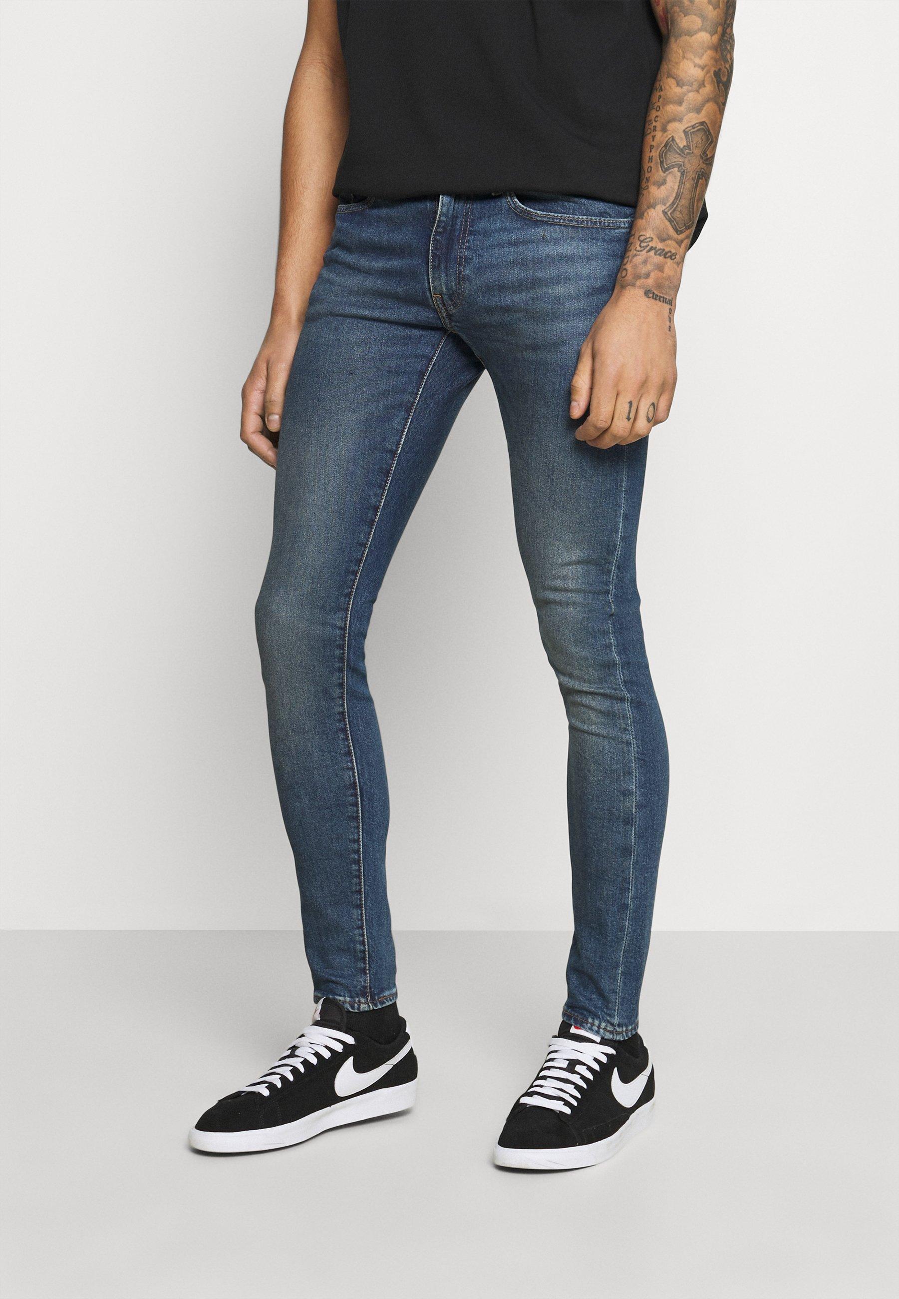 Herren SKINNY - Jeans Skinny Fit - dark indigo