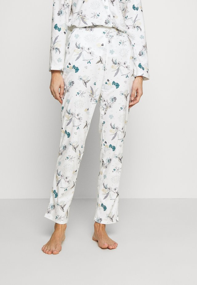 RICK PANTALON - Pantaloni del pigiama - ecru