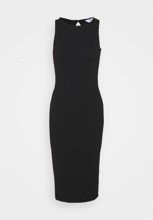 PETITES MIDI BODYCON DRESS - Vestido de cóctel - black