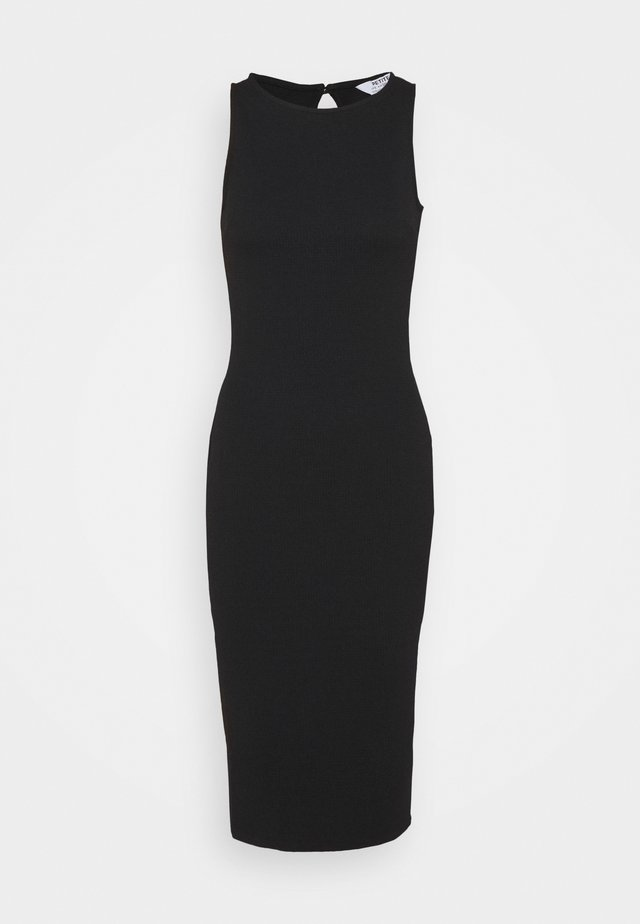PETITES MIDI BODYCON DRESS - Sukienka koktajlowa - black