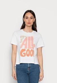 Rich & Royal - T-shirt z nadrukiem - white - 0