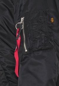 Alpha Industries - HOODED ARCTIC - Winter jacket - black - 3