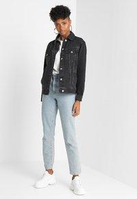 Topshop - SEAM - Denim jacket - washed black - 1