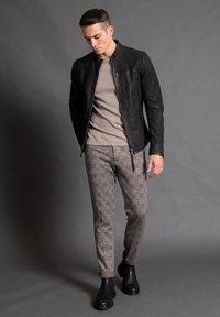 Tigha - WILSON  - Leather jacket - black - 0