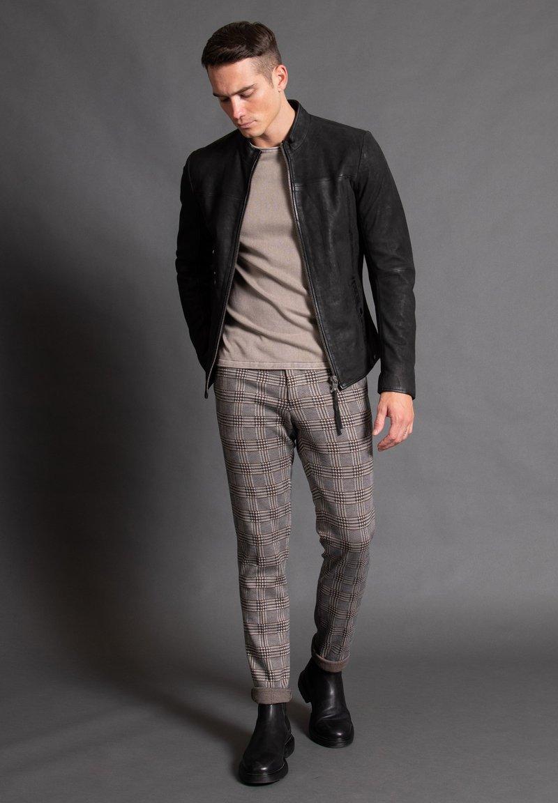 Tigha - WILSON  - Leather jacket - black