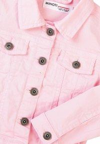 MINOTI - Denim jacket - pink - 2
