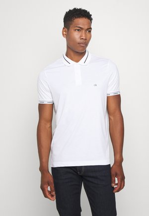 LIQUID TOUCH LOGO CUFF  - Polo shirt - white