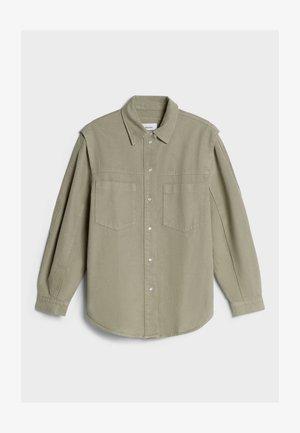 MIT ACID-WASH  - Jeansjacka - khaki