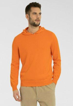 Hoodie - spicy orange