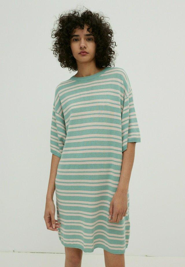 BEATRICE - Jumper dress - jade