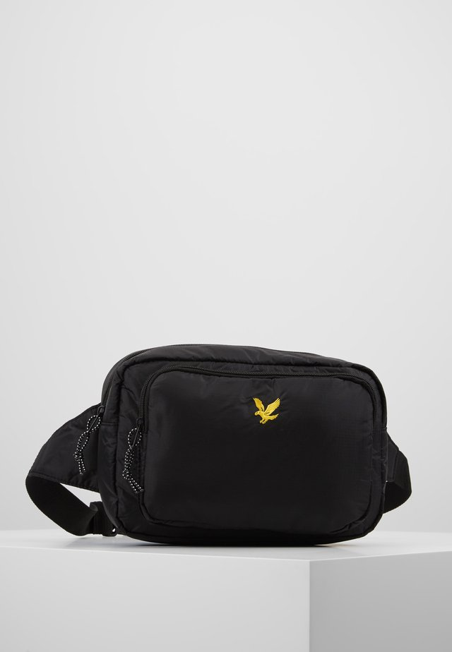 WADDED SIDE BAG - Bum bag - true black