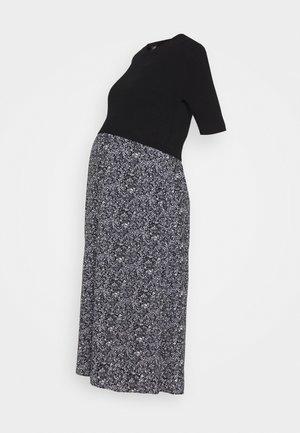 ROOPA ITSY FLORAL DRESS - Sukienka letnia - black