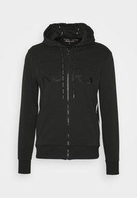 Michael Kors - KI HOODIE - Zip-up hoodie - black - 4