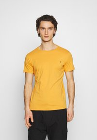 Replay - CREW TEE 3 PACK - Basic T-shirt - cold grey/ochre/military - 4