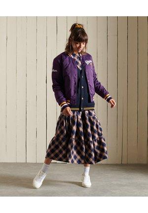 Bomber Jacket - regal purple