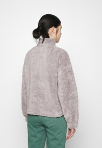 Nly by Nelly - HALF ZIP - Fleece jumper - gray