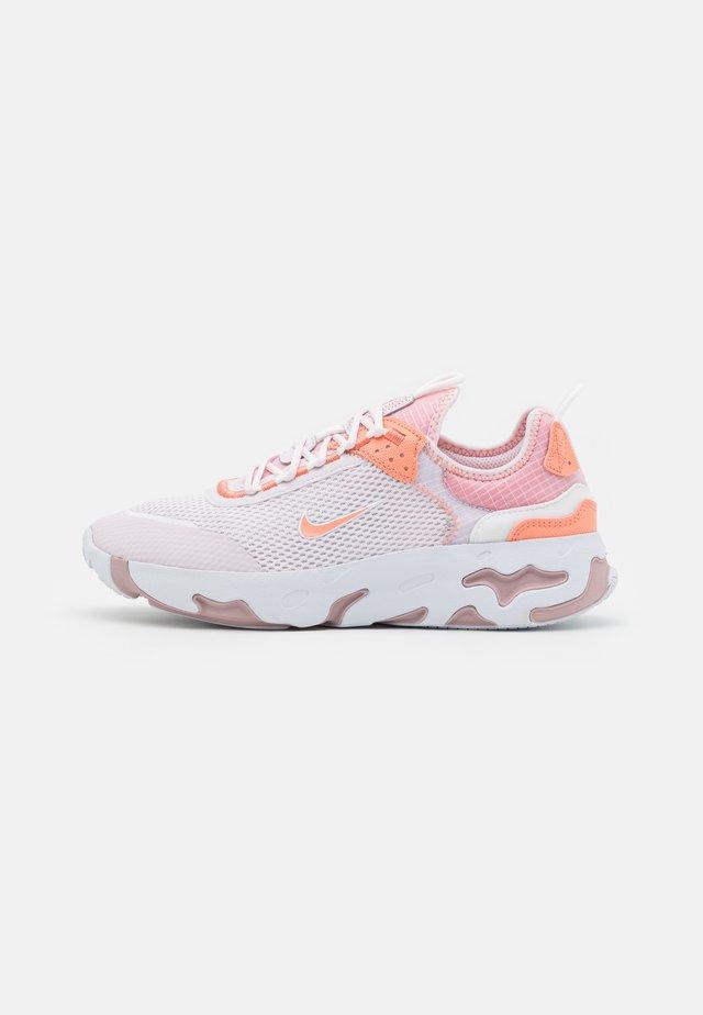 REACT LIVE UNISEX - Sneakers - light violet/crimson bliss/white/champagne