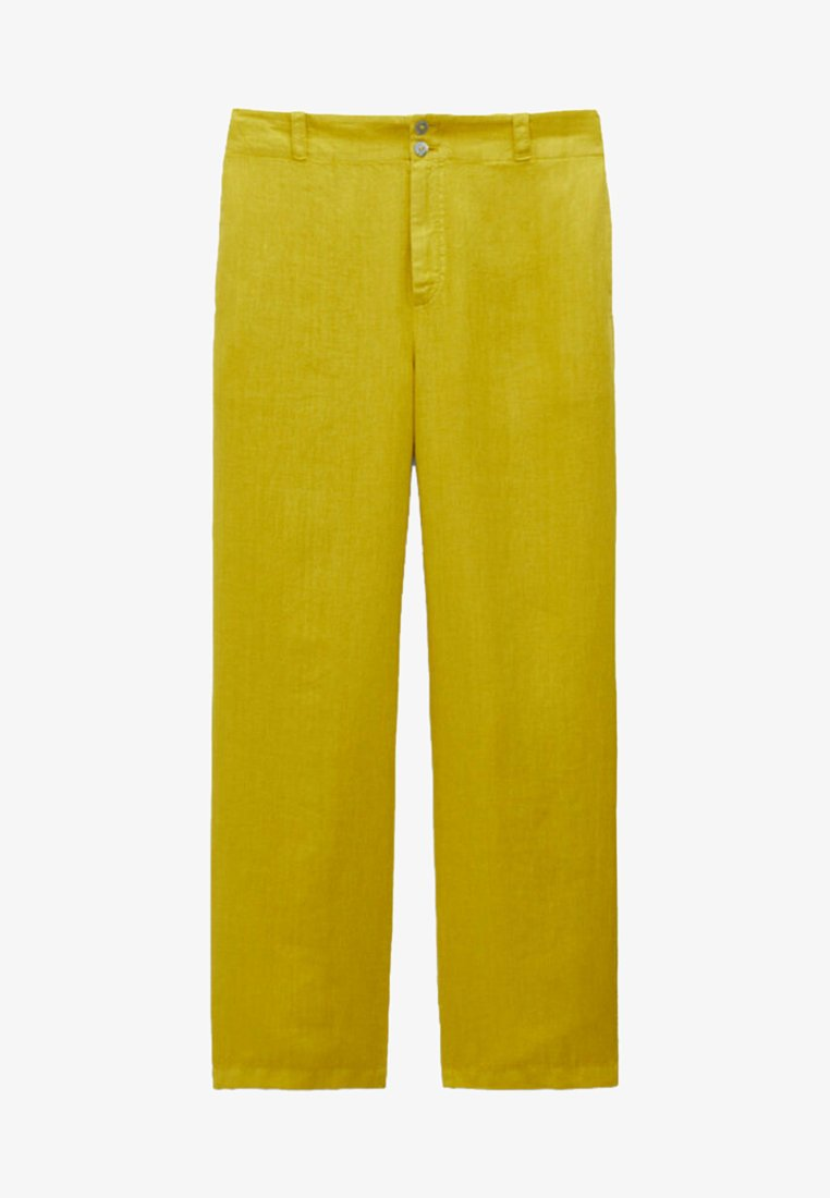 Massimo Dutti - Trousers - yellow