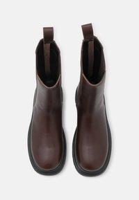 ALDO - MAPLE - Platform boots - brown - 5
