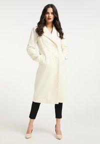 faina - Classic coat - wollweiss - 1