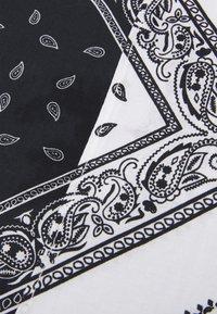 Zign - UNISEX 2 PACK - Šátek - black/white - 2