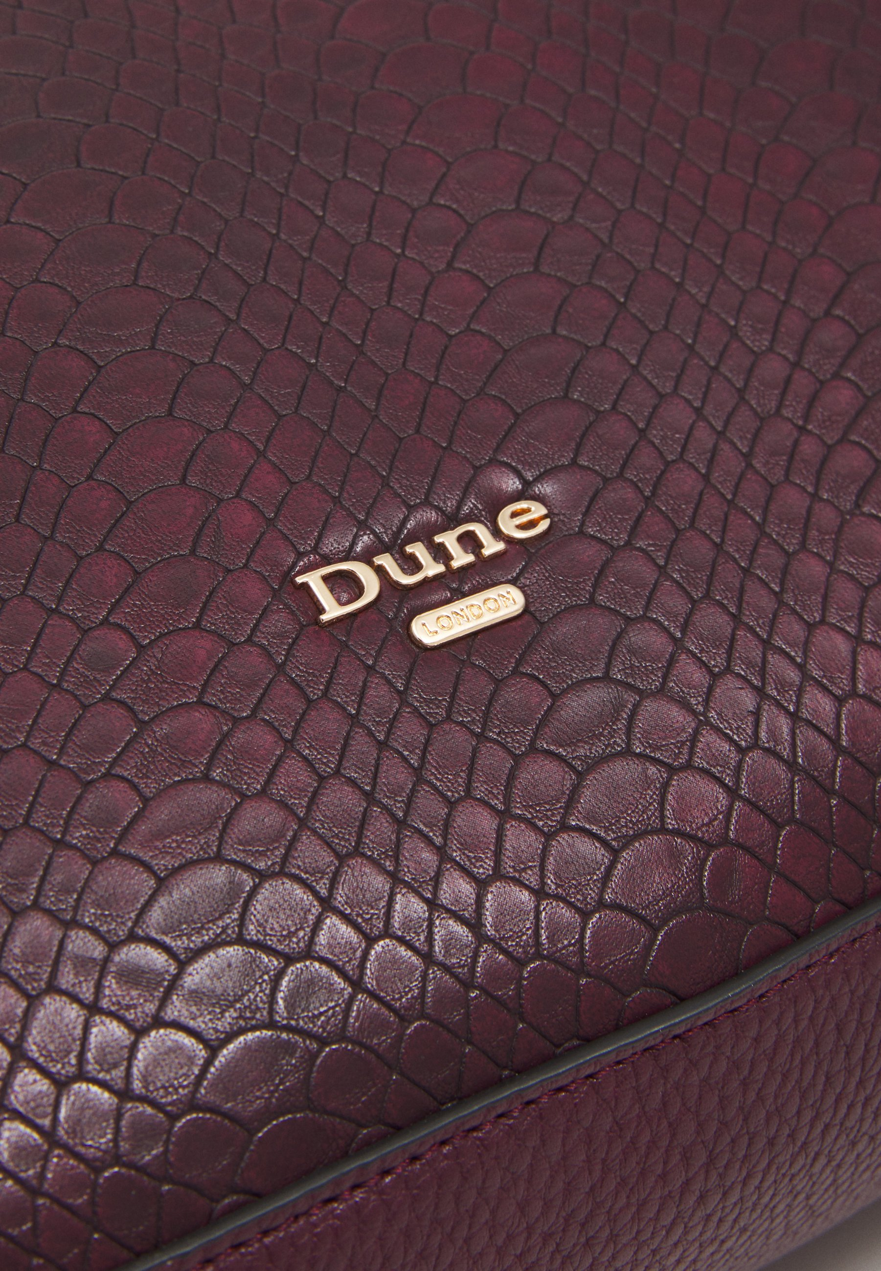 Dune London Darys - Shopping Bag Berry/beere