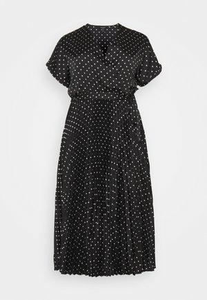 GO PLEATED SPOT - Denní šaty - blue