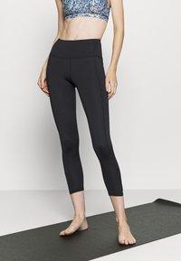 Cotton On Body - LOVE YOU A LATTE 7/8 - Leggings - black - 0