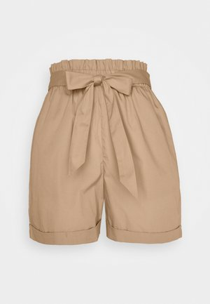 VMNOA PAPERBAG - Shorts - beige