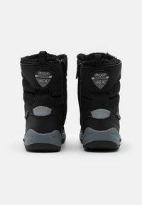 Kappa - ALIDO TEX UNISEX - Winter boots - black/grey - 2