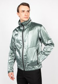 Freaky Nation - STEELBASE - Windbreaker - metal green - 0