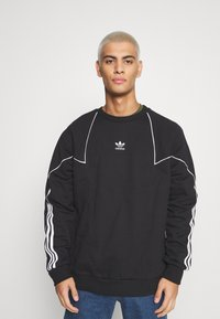 adidas Originals - CREW - Sweatshirt - black/white - 0