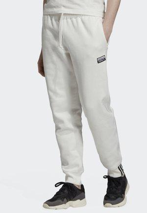 JOGGERS - Träningsbyxor - white