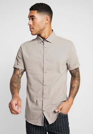 TEXTURE SMART MUSHROOM - Shirt - brown