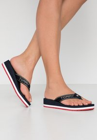 Tommy Hilfiger - RIRI  - Flip Flops - red/white/blue - 0