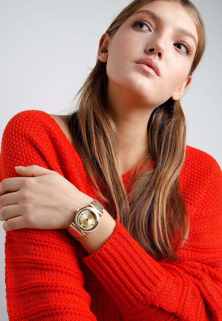 Versace Watches - V-MOTIF VINTAGE LOGO - Zegarek - gold-coloured