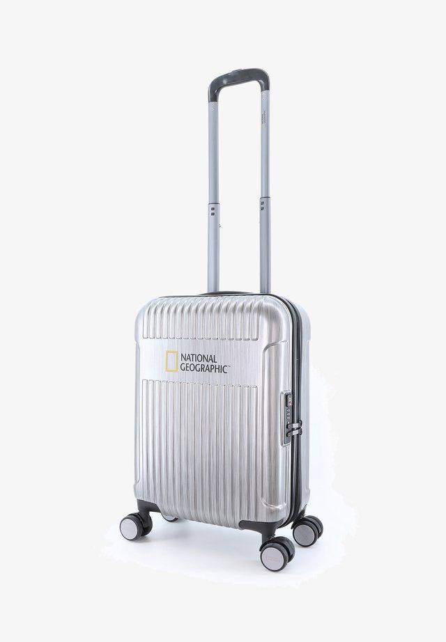 TRANSIT - Wheeled suitcase - silber