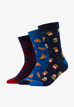 3 PACK - Calcetines - multi-coloured