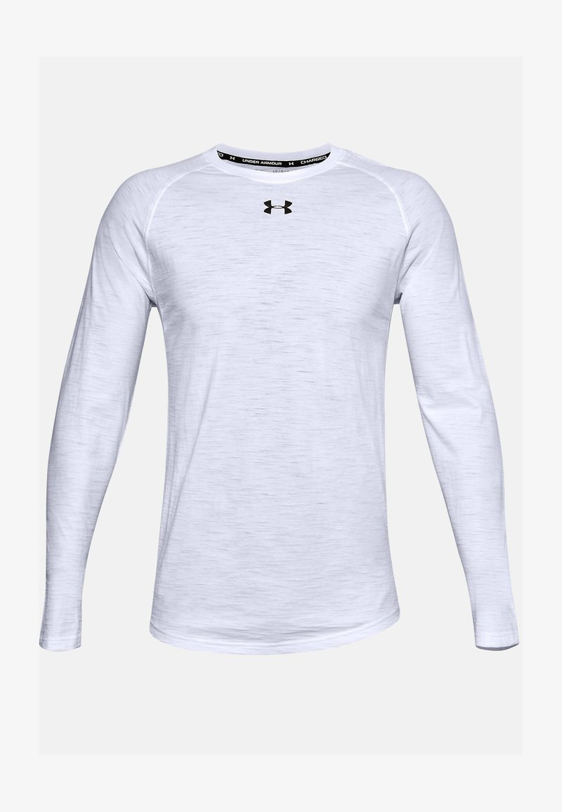 Under Armour - CHARGED  - Long sleeved top - white