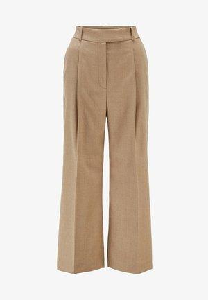 TAYAMANA - Trousers - light brown