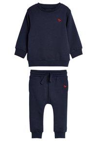 Next - SET - Sweater - dark blue - 0