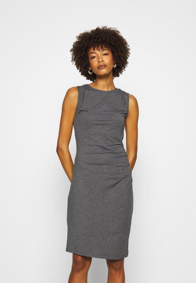 Shift dress - grey marl