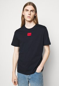 HUGO - DIRAGOLINO - Basic T-shirt - dark blue