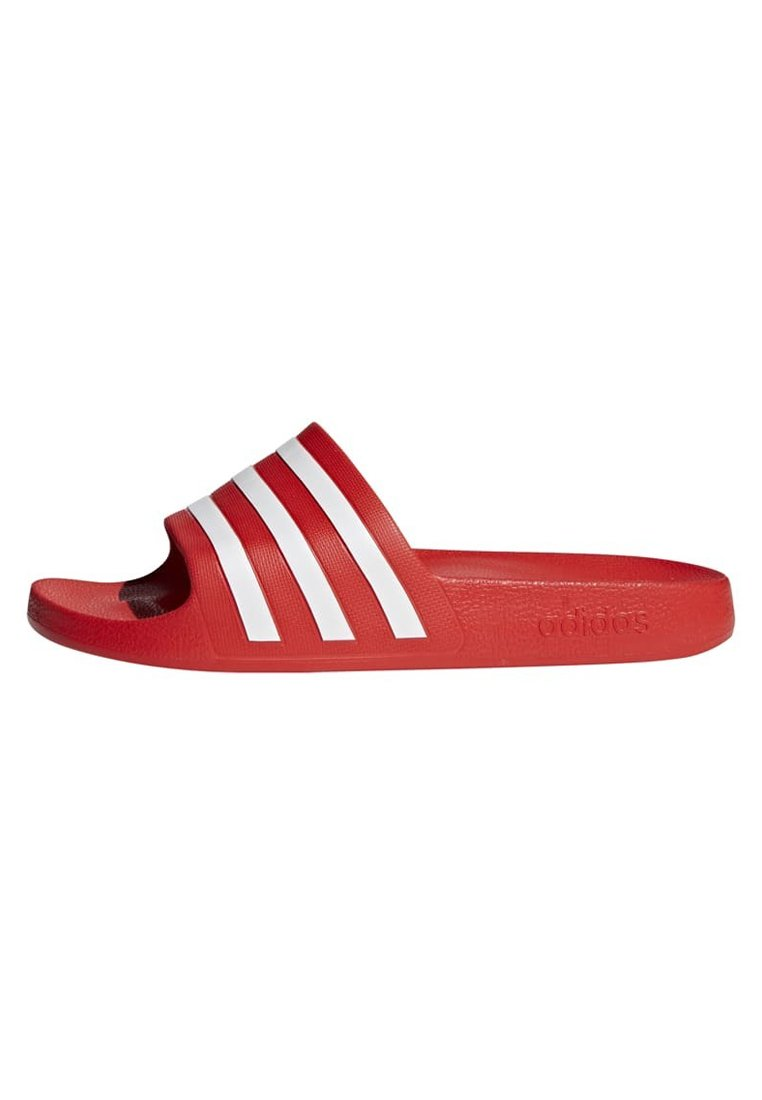 ADILETTE AQUA SLIDES - Badslippers - red